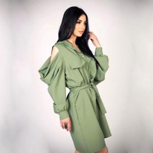 Dusty Green Dress