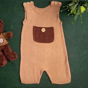 Bodysuit with button
