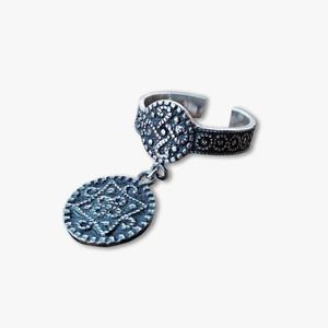 Silver ring(Carpet pattern)