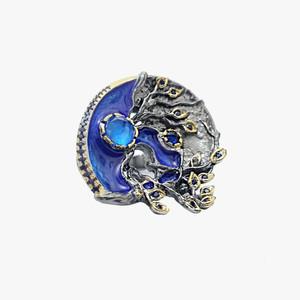 Silver ring(Palitra)