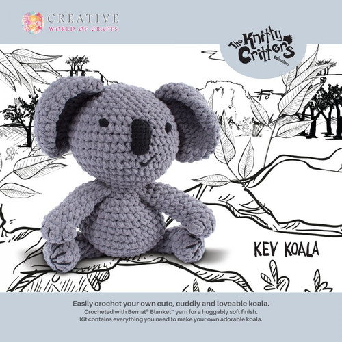 Knitty Critters-Kev Koala