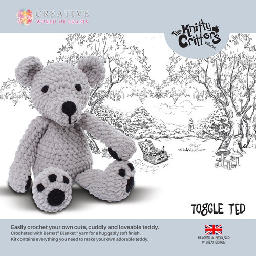 Knitty Critters-Toggle Teddy