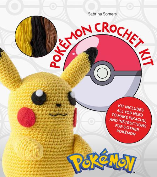 Pokémon Crochet Kit  by Sabrina Somers