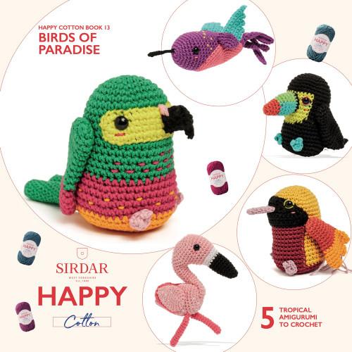 Sirdar Happy Cotton Book 13, Birds of Paradise