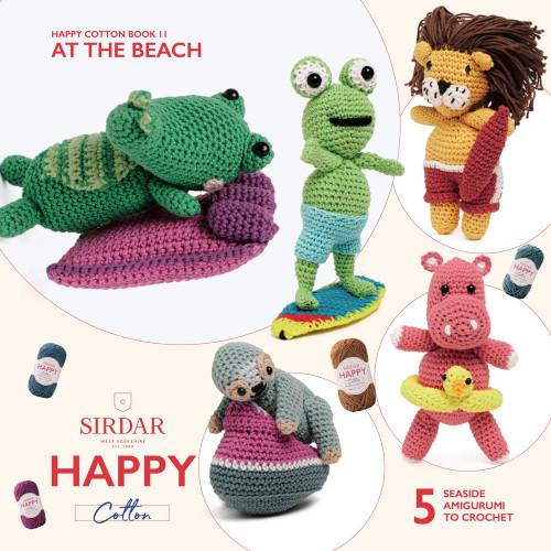 Sirdar Happy Cotton Book 11,  At The Beach