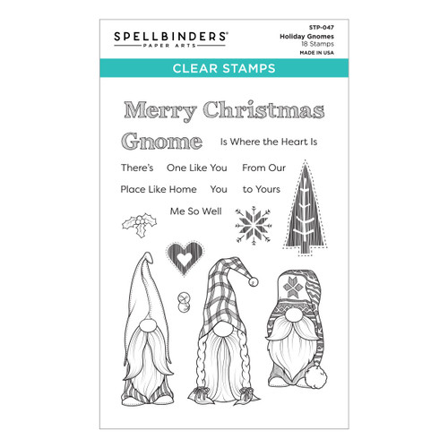 Holiday Gnomes Clear Stamp from the Be Merry Collection