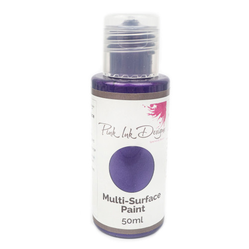 Pink Ink Designs - Multi Surface Paint - Imperial Purple Shimmer 50ML