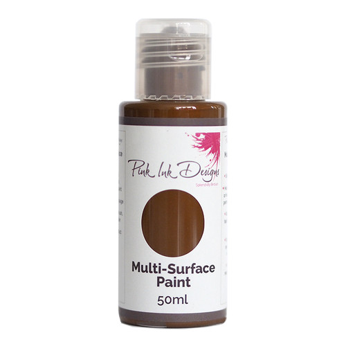 Pink Ink Designs - Multi Surface Paint - Coffee 50ML