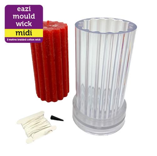 Eazi Mould- Midi Mould - Ribbed Design