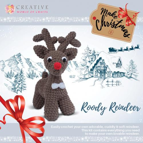 Roody Reindeer by Knitty Critters