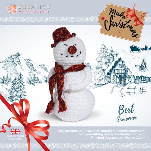 Bert Snowman by Knitty Critters