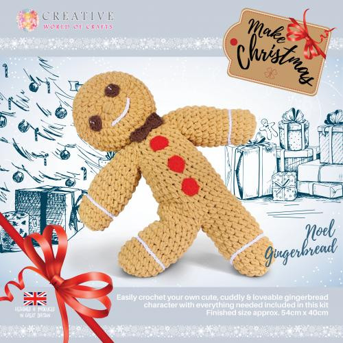 Noel Gingerbread Man by Knitty Critters