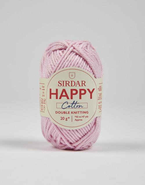 Sirdar Happy Cotton DK Yarn - Flamingo - 760