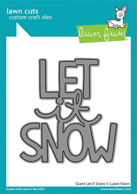 Giant Let it Snow Die