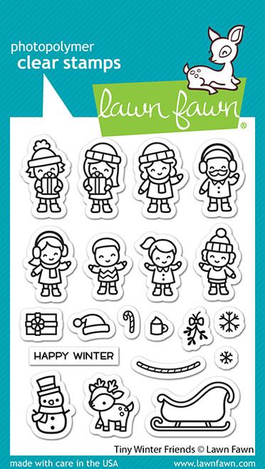 Tiny Winter Friends Stamp Set