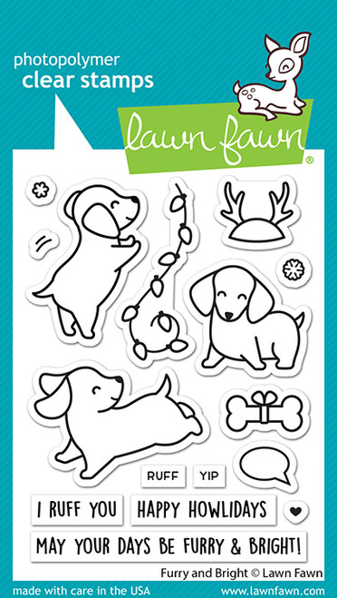 Furry and Bright Stamp Set