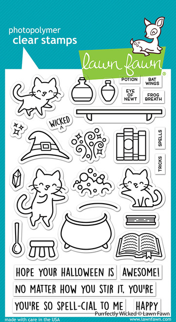 Purrfectly Wicked Stamp Set