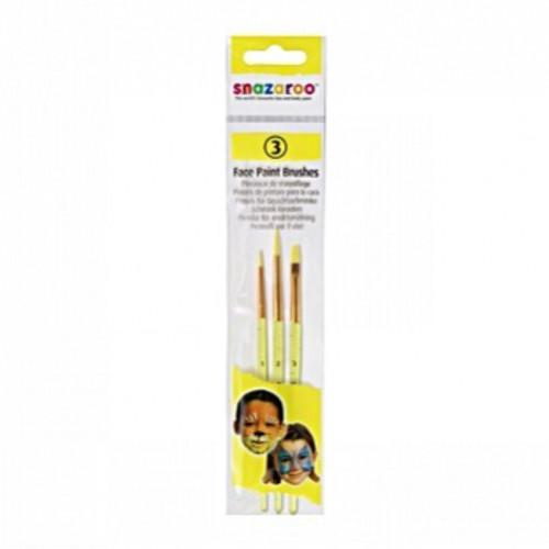 Snazaroo  Brushes Starter Set 3 Pack