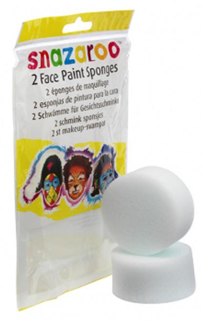 Snazaroo High Density Face Paint Sponges 2 Pack