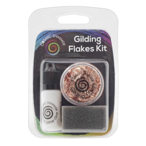 Cosmic Shimmer Gilding Flakes Kit - Copper Kettle