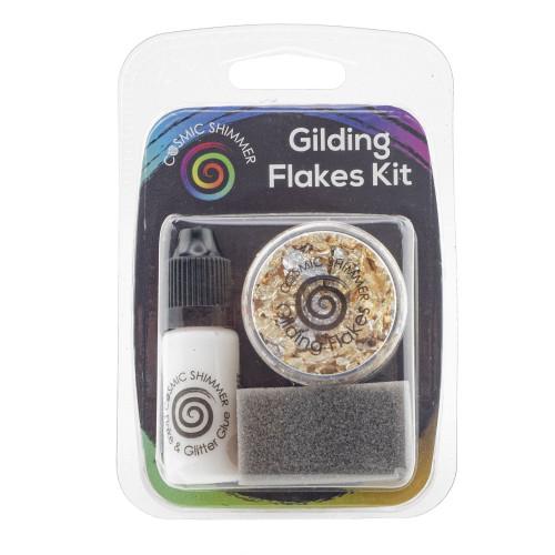 Cosmic Shimmer Gilding Flakes Kit - Egyptian Gold