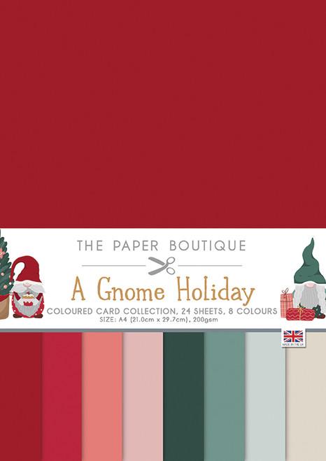 A Gnome Holiday Colour A4 Card Collection