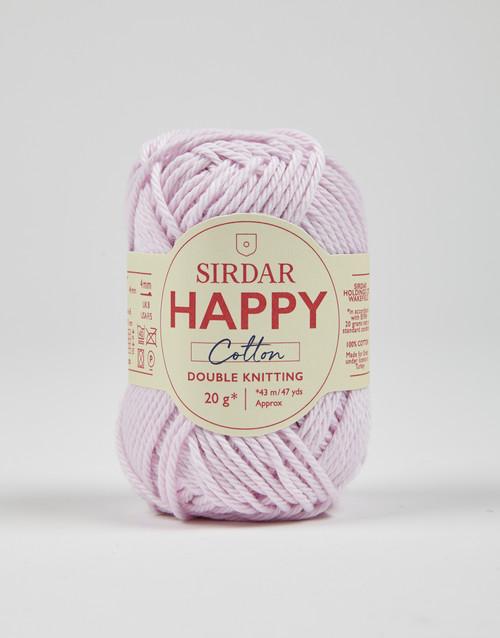 Sirdar Happy Cotton DK Yarn - Frilly - 766