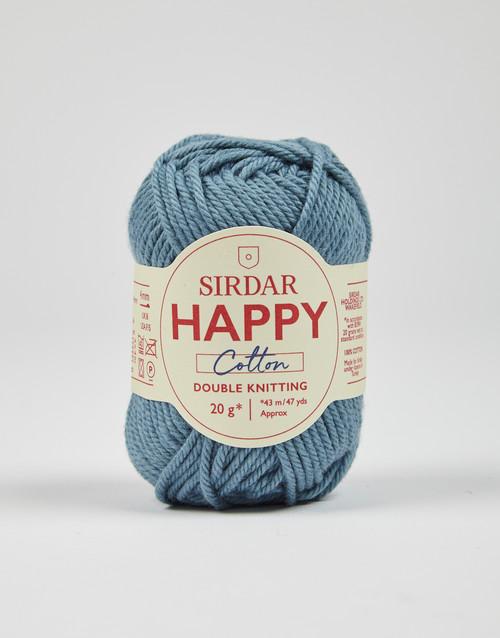 Sirdar Happy Cotton DK Yarn - Beach Hut - 750