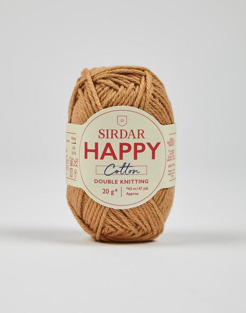 Sirdar Happy Cotton DK Yarn - Biscuit - 776