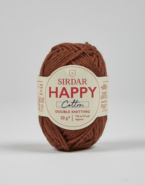 Sirdar Happy Cotton DK Yarn - Cookies - 777