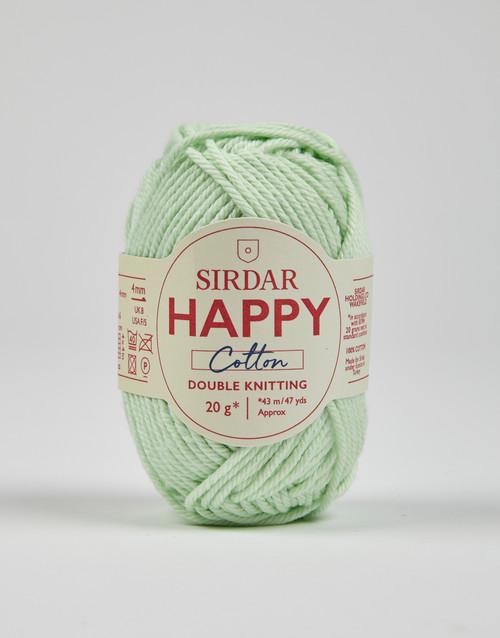 Sirdar Happy Cotton DK Yarn - Squeaky - 783