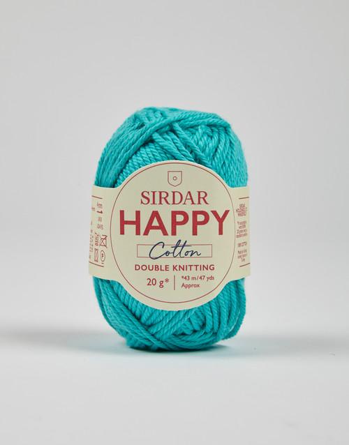 Sirdar Happy Cotton DK Yarn - Seaside - 784