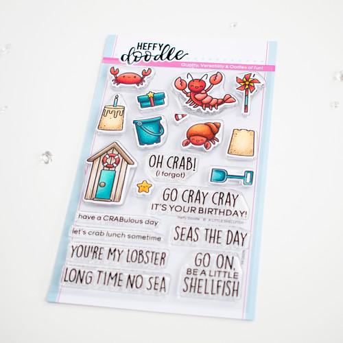 Heffy Doodle A Little Shellfish Stamps