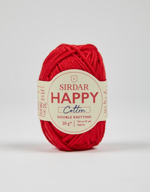 Sirdar Happy Cotton DK Yarn - Lippy - 789