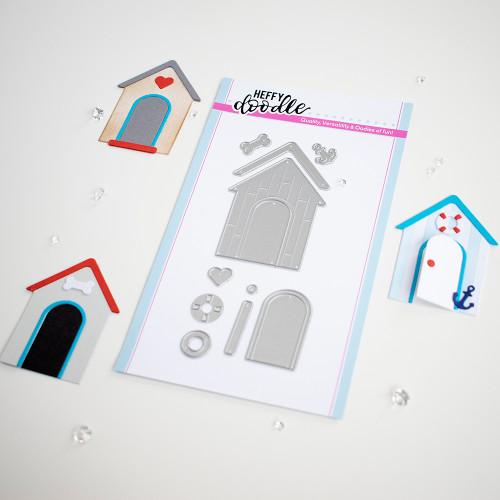 Heffy Doodle Build A Cabin Die