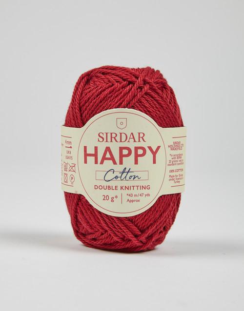 Sirdar Happy Cotton DK Yarn - Chilli - 791