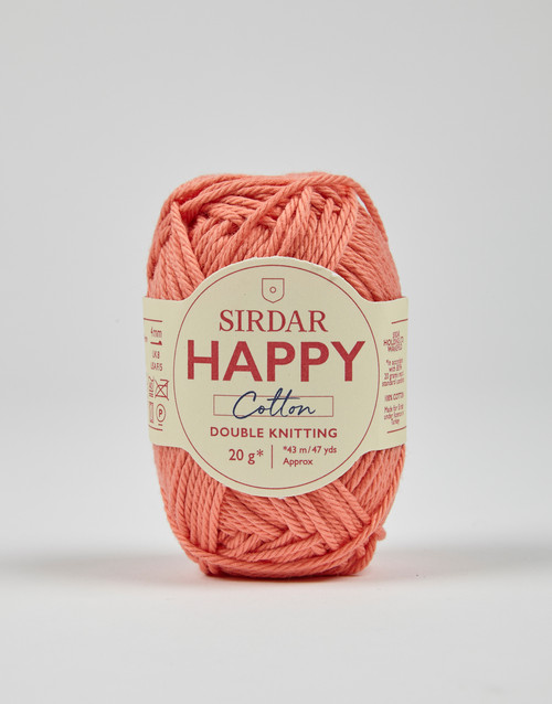 Sirdar Happy Cotton DK Yarn -  Sorbet - 793