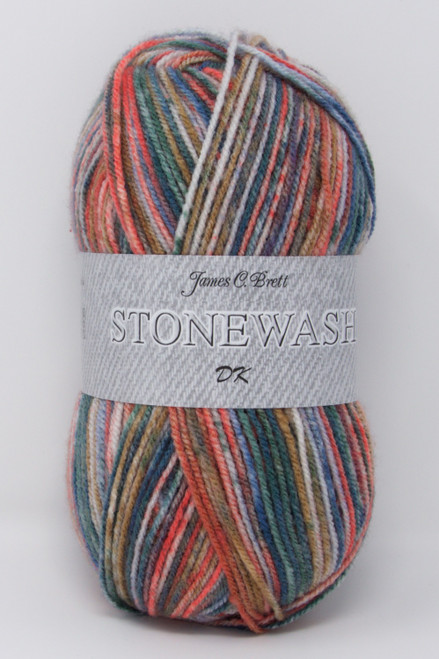 James C Brett Stonewash DK Yarn Single