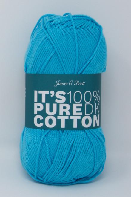 James C Brett It's Pure Cotton DK Yarn Single