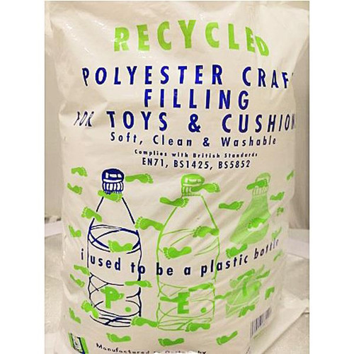 Recycled Polyester Craft Filling 250g