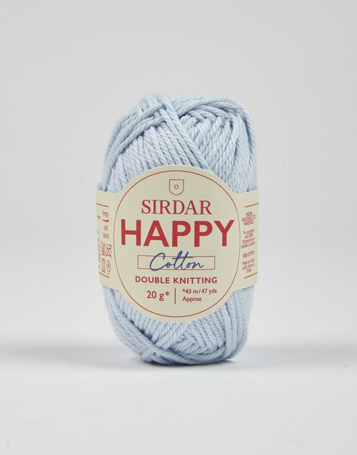 Sirdar Happy Cotton DK Yarn - Angel-  796