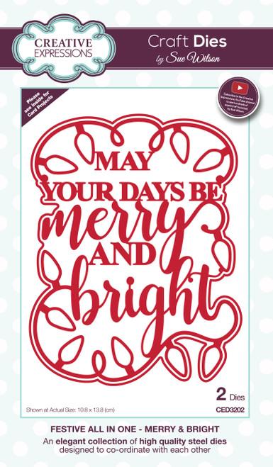 Merry & Bright Dies by Sue Wilson