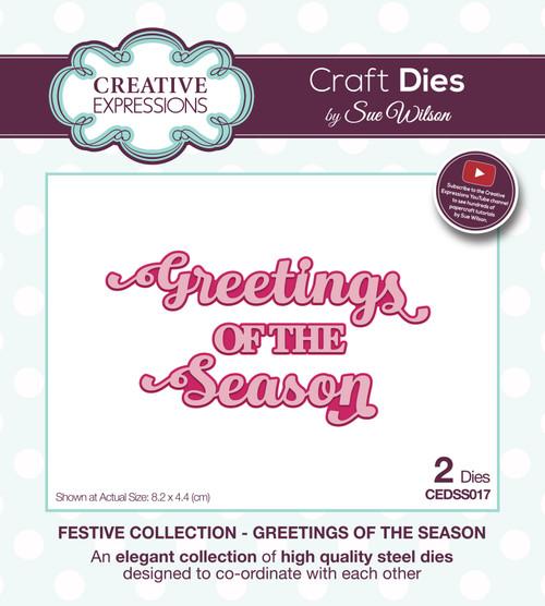 Shadowed Sentiments Greetings of the Season by Sue Wilson