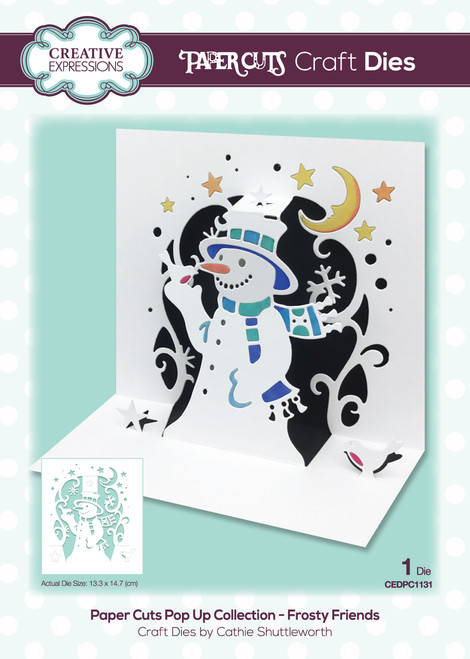 Frosty Friends Pop Up Collection by Paper Cuts