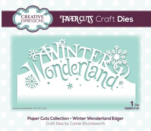 Sample Project Winter Wonderland Edger Die by Paper Cuts