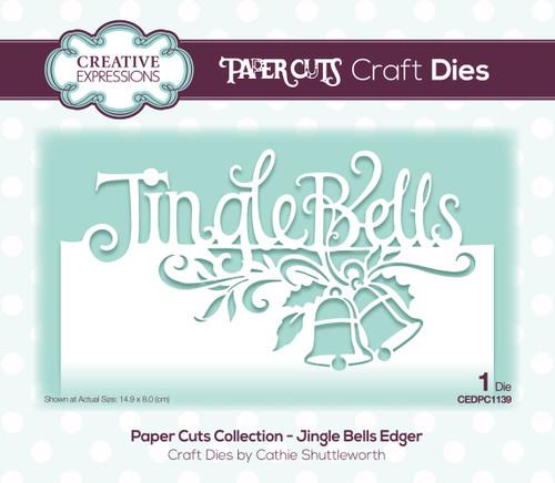 Jingle Bells Edger Die by Paper Cuts