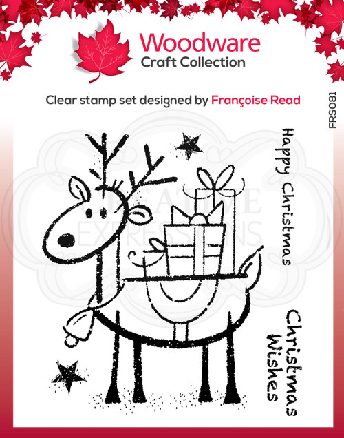 Rudolph Pressies Clear Stamps