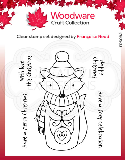 Foxy Christmas Clear Stamps by Francoise Read