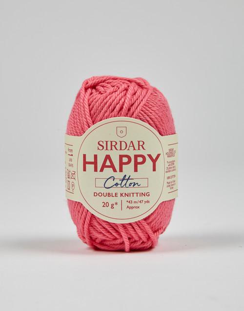 Sirdar Happy Cotton DK Yarn - Bubblegum - 799