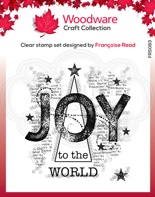 Joy Clear Stamp by Francoise Read